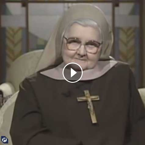 Mother Angelica on Communion